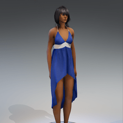 Dress Holly 2.0 blue