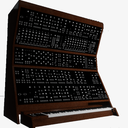 Moog Synthesizer Top - Playable