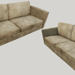 Old Dirty Couch - Beige
