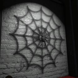 HALLOWEEN GIFT SPIDER ON NET