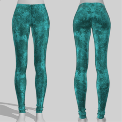 Leggings Maddy Grunge Emerald