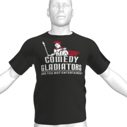 Comedy Gladiators T-Shirt - Male
