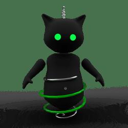 Robo Kitten Green