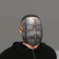 shhhhhh  mask (male)