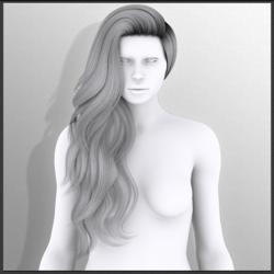Katerina - Style 2 (Hair)