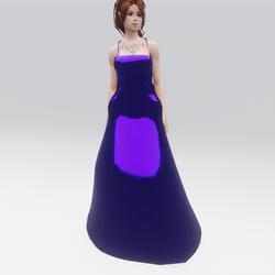 Violet Dreams Gown