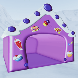 Purple Candy House