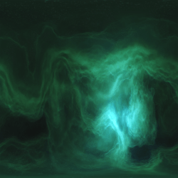 Polygon ~ Skybox Nebula Green