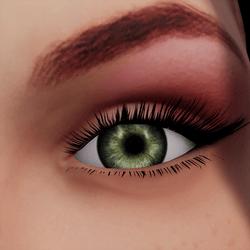Angela Add-On Eyes - Forest Green