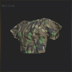 ARMY TOP GREEN