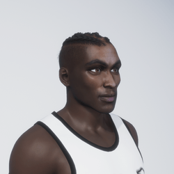 Darrell | African Male, fit body, brown eyes
