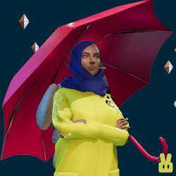 umbrella - pink