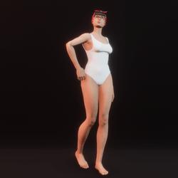 model pose 01