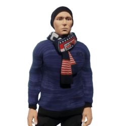 Pullover_scarf_Blue