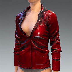 Rubber Jacket Red