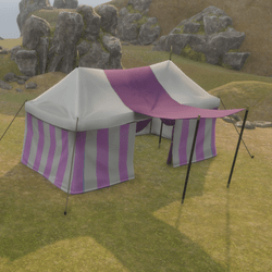 Large Tent Purple
