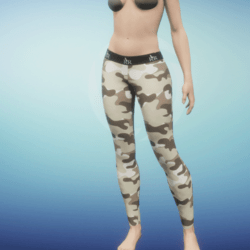 Leggings Camo delta