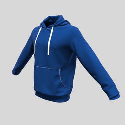 hoody male blue