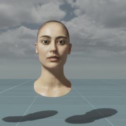 Louise - Head Scan