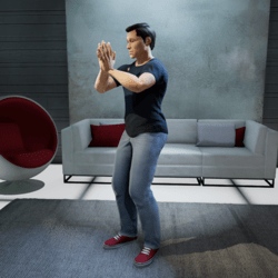 Pray Bow Gesture (Male)