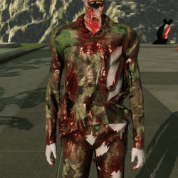 Army Shirt For Zombie Avatar