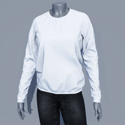 Women Sweater - White