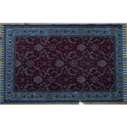 Trampled Blue Persian carpet