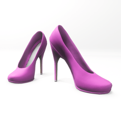 "High heel pumps for ""Alina Daisy highheels"" and ""Nicci"" avatar - pink"
