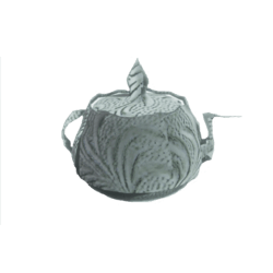 Ceremonial Bird Jar Metallic