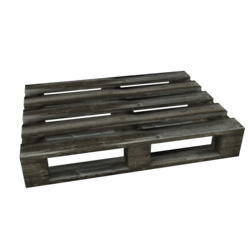 Weathered Industrial Pallet A
