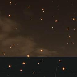 Animated Night Flies