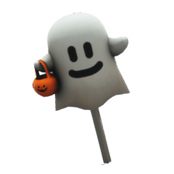 Halloween Candy Ghost Boo!