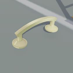 Brass D Handle 01
