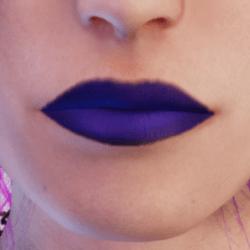 Daphne Matte Purple Lipstick