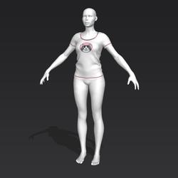 Alinity T-Shirt - Maya - Female