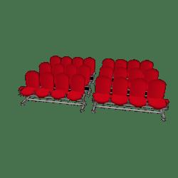 Auditorium Chairs x 24