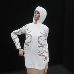 Hoodie Dress Timey Master Branded (TM)