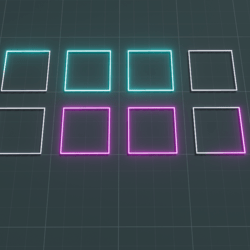 Light up floor squares