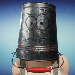Haunted Bucket Helmet (Female)