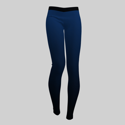 Leggings Maddy Gradient Blue 2.0