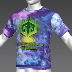 Ready Player One: Gregarious Games T-Shirt (Tiedye) (M)