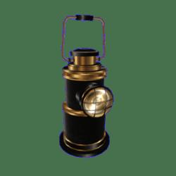 Decorative Vintage Oil Lamp