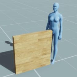 Block - Wall (1m, 0.1m, 1m)