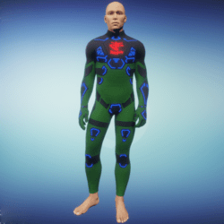 BioArmor ZV01 Body Male Green