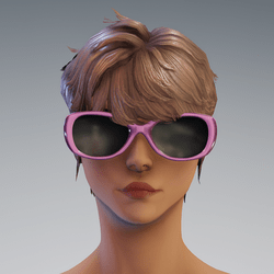 Sunni Glasses AV2 Pink - no reflextion glass