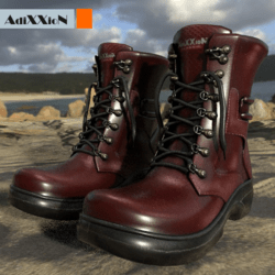 Ultras Red Boots AdiXXioN