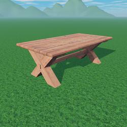 Wood Table 2