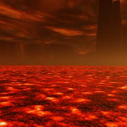 Animated Lava Sea Bed