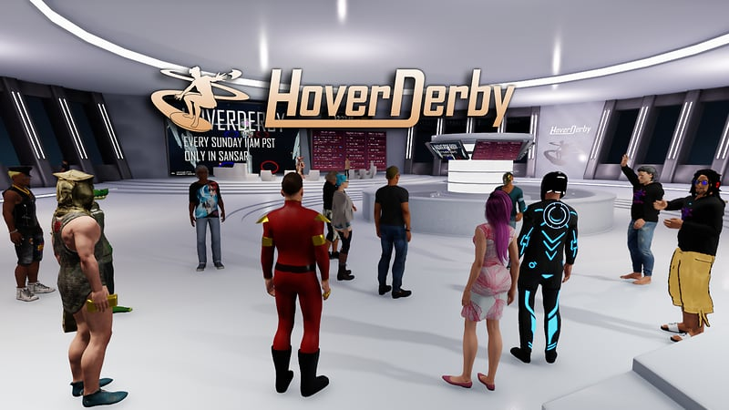 HoverDerby lounge
