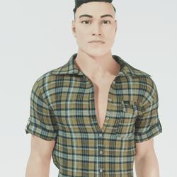 Dean - Custom Male Athletic Avatar